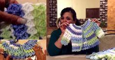 Tutorial #46: Chaleco de Bebé a Crochet