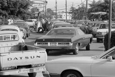 DURING THE OIL CRISIS OVER THE SUMMER OF 1979, CARS WITH A LICENSE PLATE PLATE ENDING IN AN ODD NUMBER were only allowed to buy gasoline on odd-numbered days, while even-numbered plate-holders could only purchase gas on even-numbered days.  ~ June 1979