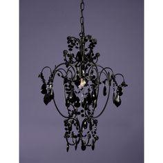 Black Chandelier style light fitting £79.99