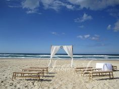 seating for small beach wedding - Google Search