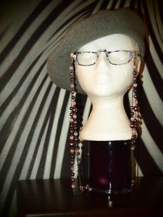 Pearl beaded Eyeglass Chain by TheFACEspace on Etsy, $10.00
