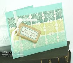 Dreams Card by Nichole Heady for Papertrey Ink (June 2012)