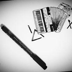 Resultado de imagem para zabumba triangulo e sanfona tattoo