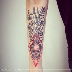 Lisa Orth tattoo