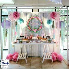 Pink Coachella Sweets Overload Area. #PinkCoachella #Coachella #ThePartyProjectManila #TPP #EventStyling #EventsPlanning #BohoChic #DreamCatcher #Wanderlust #happiness #Passion #MusicFest #ShaniaTurnsSeven