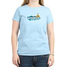 Eastern Shore MD - Surf Design. T-Shirt on CafePress.com