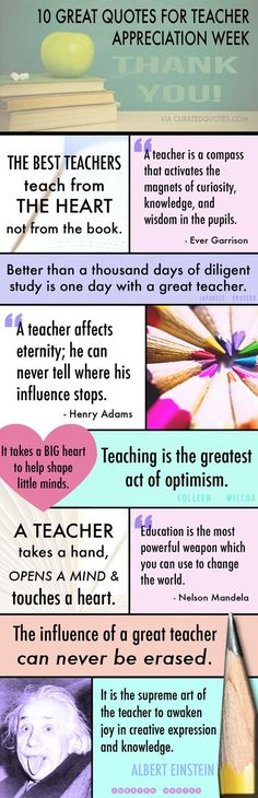 Happy Teacher Appreciation Week!