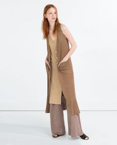 70 Business / Work Casual Women Dresses for Business Meetings - Casual Dresses For Women, Clothes For Women, Long Vests, Zara Women, Outerwear Women, Work Casual, Dress Codes, Knitwear, Womens Fashion