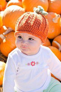 Crochet Pumpkin Pattern: Pumpkin Harvest Hat and other free Crochet Pumpkin Patterns