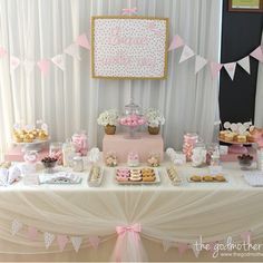 Once Upon A Time Princess Birthday Party Once Upon A Time Princess Party Pink and Gold birthday party Gold Birthday Party, Princess Birthday, Baby Birthday, Princess Party, First Birthday Parties, Deco Baby Shower, Girl Shower, Shower Party, Baby Shower Parties