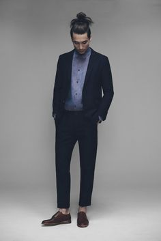 Papito Blazer, Keith Shirt and Presley Trousers | Samuji Man SS15 Collection
