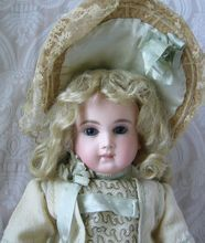 French Bisque Head Doll by Schmitt & Fils