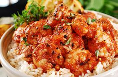 Bbq Shrimp & Rice - Dream Dinners