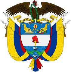 Brasão de armas da Colômbia