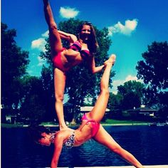 Acro Stunt. This looks do-able. We shall try it next time we do a dance photo shoot =)