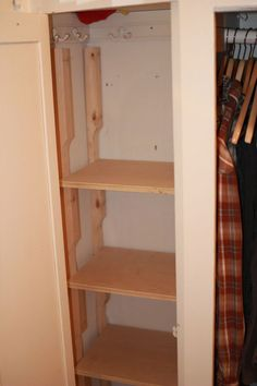 Pressure Fit Screw Less Shelves