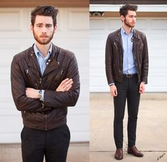 Viparo Jacket, Brooks Brothers Shirt, H Pants, Bostonian Shoes | All Caps (by Edward Honaker) | LOOKBOOK.nu