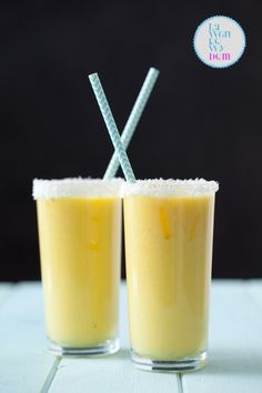 koktajl mango_3 Mango, Smoothies, Juice, Food And Drink, Health Fitness, Pudding, Recipes, Diet, Kitchens