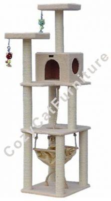 Cat Tree Furniture with Cat Hammock