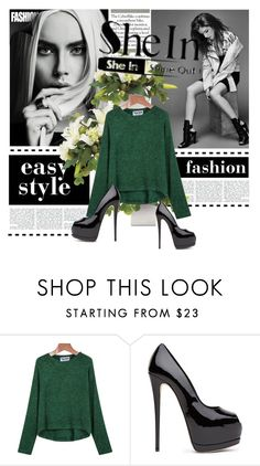 """""""SHIENSIDE contest"""" by azeminicaaa12mala ❤ liked on Polyvore featuring moda"""
