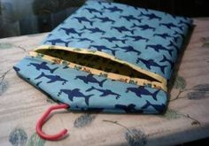 Green Willow Pond: Easy Clothespin Bag
