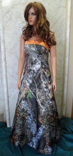 Prom dresses, evening dresses Designed Personally for You. Customize your formal dresses. Camouflage Prom Dress, Camo Dress, Camo Bridesmaid Dresses, Homecoming Dresses, Affordable Prom Dresses, Nice Dresses, Formal Dresses, Designer Evening Dresses