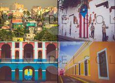 Puerto Rico photography, Caribbean, Doors of San Juan, Puerto Rico, living room, Travel, San Juan doors, office, bedroom decor, Gift idea