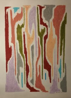 Oil pastel on paper.  Jeff Lee Thomson . Www.facebook.com/jeffleethomson