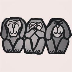 regram @ogusis23 世の中に沢山いる汚い人間や間違った人間に染まらない様に気を付けなきゃね。 こみ上げてくる怒りを我慢するのにも限界があれど無視に尽きます。  #三猿  #言わざる #見ざる  #聞かざる  #朱に染まれば赤くなる #蓮華在水