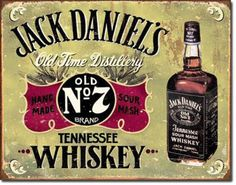 Vintage-Jack-Daniels-Werbung-Vintage-Retro-Whiskey-Reproschild-Plakat-Sign-024