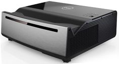 Dell announced two new display products — a short-throw laser projector and curved ultrawide monitor. Home Theater Decor, Best Home Theater, Dvd Blu Ray, 4k Television, Best Surround Sound, Short Throw Projector, Projector Reviews, Media Room Design, Tv Display