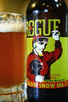 Rogue Yellow Snow IPA = Awesome