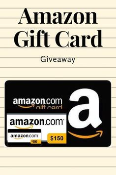 WIN a $150 Amazon GIFT Card and Many More Prizes