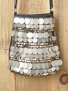 Free People Dancing Coins Crossbody Bag at Free People Clothing Boutique - StyleSays