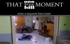 THAT OTH MOMENT. literally just choked laughing so hard :) @Haley Rost