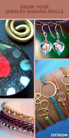 Grow your jewelry making skills! Learn how to make dazzling DIY jewelry with step-by-step video lessons on beading, wire wrapping, weaving - and more!