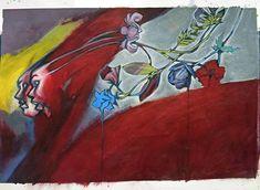 #day94 #art by #junkohanhero #drawings #paintings #illustrations #watercolorpencils #acrylics #artworks