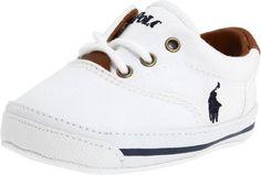 Ralph Lauren Layette Vaughn Crib Shoe (Infant/Toddler),White Canvas,3 M US Infant Ralph Lauren Layette,http://www.amazon.com/dp/B0058ZQPGK/ref=cm_sw_r_pi_dp_BVADtb197KV4VTMC