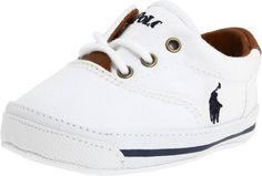 Ralph Lauren Layette Vaughn Crib Shoe (Infant/Toddler),White Canvas,4 M US Toddler on http://shoes.kerdeal.com/ralph-lauren-layette-vaughn-crib-shoe-infanttoddlerwhite-canvas4-m-us-toddler