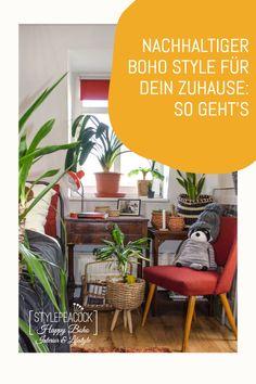 Nachhhaltig einrichten und leben im Boho Style. Verwirkliche dein Bohemian Home mit Vintage Möbeln, Flohmarkt-Funden und toller Deko im Bohostyle. Viele Inspirationen rund um dein Zuhause, Bunter, fröhlicher Style wie bei der Bohème. Die schönsten Deko- und Einrichtungstipps. [verlinkte beiträge können werbung enthalten] Bohostyle, Bohemian Living, Lifestyle Blog, Projects, Plants, Home Decor, Bedroom, Awesome Beds, Old Pictures