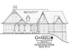 Lake Lodge Cottage House Plan | House Plans by Garrell Associates, Inc