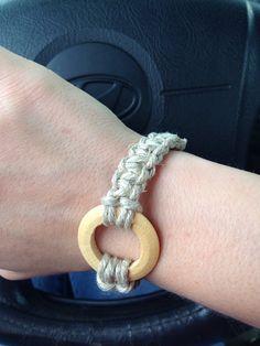 Infinity Hemp Bracelet by HandmadesByShelly on Etsy, $6.00