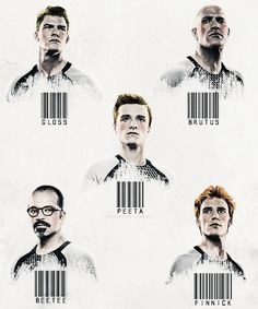 The male tributes of the 75th Hunger Games