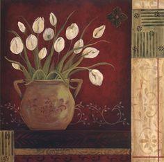 Villa Tulips Fine-Art Print by Jo Moulton at UrbanLoftArt.com