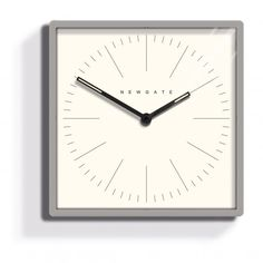 Newgate Clocks Mr Robinson Wall Clock Grey