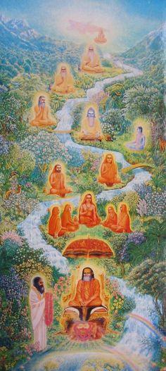 Sri Sri Ravi Shankara -::- Lineage tracing back Maharesh Mahesh Yogi & other Holy Gurus & Saints