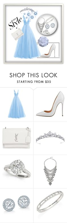 """Bez naslova #28"" by mustafa-saric ❤ liked on Polyvore featuring Yves Saint Laurent and Messika"