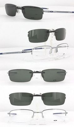 Other Vision Care: Custom Fit Polarized Clip-On Sunglasses For Oakley Rhinochaser Ox3111 52X19 3111 -> BUY IT NOW ONLY: $58.88 on eBay!