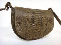 Vintage Handtasche Kroko