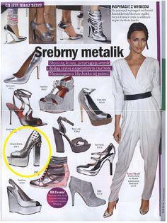 Cosmopolitan August 2012  www.sequinshoes.pl